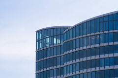 Glass facade of an office building Stock Photo