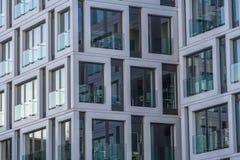 Glass facade of an office building Royalty Free Stock Photos