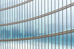 Glass facade of office building Royalty Free Stock Photography