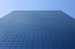 Glass facade perspective Royalty Free Stock Photos