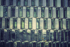 Glass facade with reflection Royalty Free Stock Image