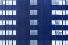 Glass facade of windows Royalty Free Stock Photo