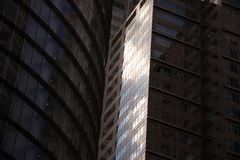 Glass Facades Royalty Free Stock Images