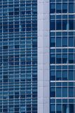 The glass facades of skyscrapers Royalty Free Stock Image