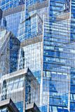 The glass facades of skyscrapers Royalty Free Stock Photography