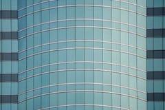 Glass fasadbyggnad Arkivfoto