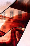Glass fasader Arkivfoton