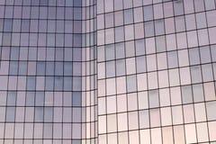 Glass fasader för Laförsvarkontor i Paris affärsområde Royaltyfri Bild