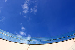 Glass Fence Stock Photography