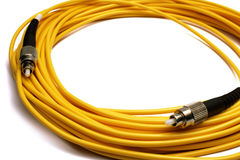 Glass fibre for connection. Fc on a white background it is isolated Royalty Free Stock Photo