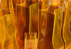 Glass figures Stock Image