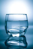 Glass filled with water Royalty Free Stock Photography