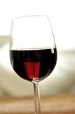 Glass of fine italian red wine Royalty Free Stock Image