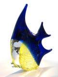Glass Fish. Glass yellow-blue fish Stock Photos
