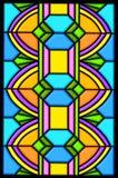 glass fläck för art décodesign vektor illustrationer