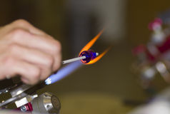 Glass Flameworking Stock Photos