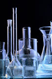 Glass flasks Royalty Free Stock Photo