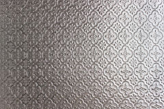 Glass floral pattern texture Stock Photos