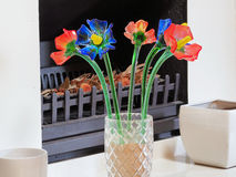Glass Flowers Royalty Free Stock Images