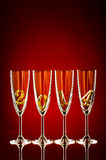 Glass 2014 Royalty Free Stock Photos