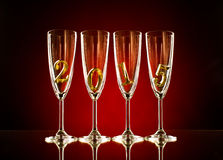 Glass 2015 Royalty Free Stock Images