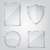 Glass frame collection Stock Photography