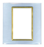 Glass frame isolated. On white background Royalty Free Stock Image