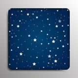 Glass frame. Starry Sky. Eps 10. Stock Images