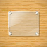 Glass frame Royalty Free Stock Image