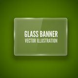 Glass framework. Vector illustration. Stock Image
