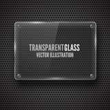 Glass framework. Vector illustration. Royalty Free Stock Photo