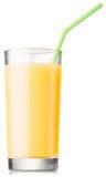 Glass of fresh fruit juice Stock Photography