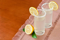 Glass of fresh homemade tasty lemonade Royalty Free Stock Photo