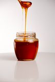 Glass of fresh honey Royalty Free Stock Image