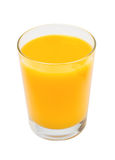 Glass of fresh juice from citrus fruit isolated Stock Image