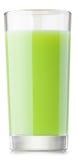 Glass of fresh kiwi juice Stock Photo