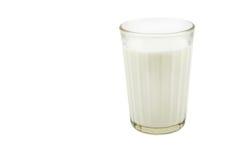 Glass with fresh milk Stock Photos