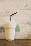 Glass of fresh milk Royalty Free Stock Photos