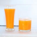 Glass of fresh orange juice Royalty Free Stock Images