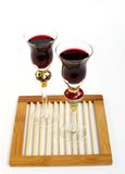 Glass of fresh Red wine Stock Photography