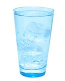 Glass of fresh water Stock Images