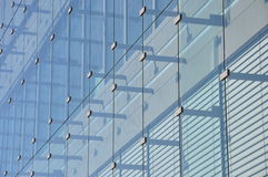 Glass front of a building Royalty Free Stock Image