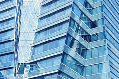 Glass front of a modern office building Royalty Free Stock Photo