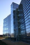 Glass Frontage. Of Modern office stock images
