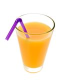 Glass of fruit juice Stock Photo