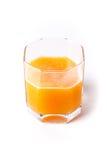 glass fruktsaft Arkivbild