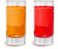 glass fruktsaft Royaltyfri Fotografi