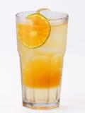 glass fruktsaftorange Royaltyfri Bild