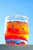 glass fruktsaftorange Royaltyfria Foton
