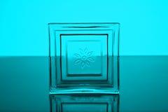 glass fyrkant Royaltyfria Foton